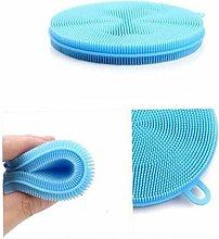 Silicone Dish Scrubber Dishwashing Brush Sponge