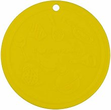 Silicone Drink Coasters Cup Pad Mat 15CM Non Slip