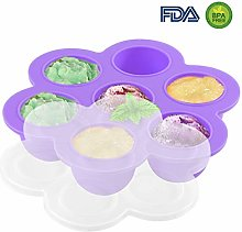 Silicone Egg Bites Molds Reusable Food Storage
