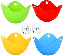 Silicone Egg Poachers with Base Ring Mini