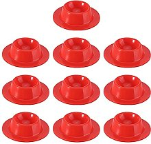 Silicone Egg Serving Cup Holder 10pcs Silicone Egg