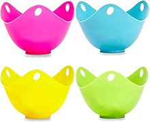 Silicone egg wildering cup pods