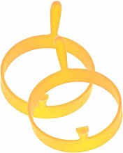 Silicone Fried Egg Mold Ring, Egg Rings Round -