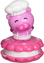 Silicone Gold Pig Kitchen Timer, Multicolor, 14x