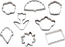 Silicone Gold Summer Set Cutters Biscuit,