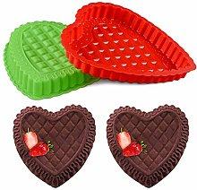 Silicone Heart Mould - YUESEN Reusable Heart Shape