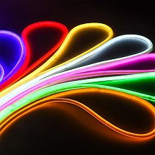 Silicone LED Neon Rope Light, Waterproof for