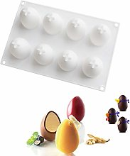 Silicone Mould 3D Egg Shape For Chocolate Easter
