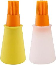 Silicone Oil Bottle with Brush Heat-Resistant