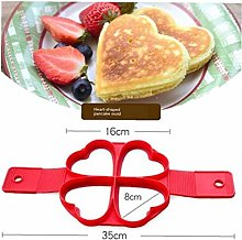 Silicone Pancake Mould Four-hole Omelette for Home