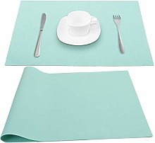 Silicone Place Mats Table Placemats, Green Extra