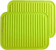 Silicone Placemat Hot Dishes 2PCS Silicone Trivets
