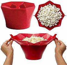 Silicone Popcorn Container, Microwave Popcorn