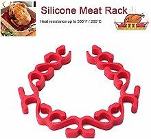 Silicone Roasting Rack Non-Stick Meat Baking Racks