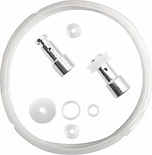 Silicone Sealing Ring Clear + Pressure Cookers