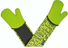 Silicone Steam Stop Waterproof Double Oven Gloves