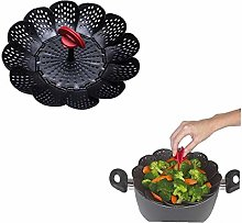 Silicone Steamer Basket for Steaming Food and