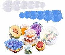 Silicone Stretch Lids, Reusable Airtight Food