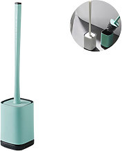 Silicone Toilet Brush Set Bowl Cleaning Brush Set