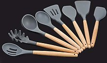 Silicone Wooden Handle Kitchen Tool Non-Stick
