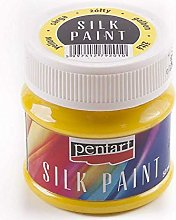 Silk Color Yellow 50ml, Pentart, Colors, Textile