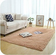 Silky Fluffy Carpet Modern Home Decor Long Plush