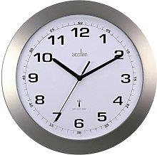 Silver Acctim Wall Clock 74137 (Acctim, ) Radio
