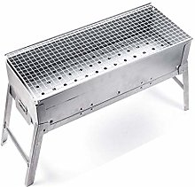 Silver Barbecue, Charcoal Barbecue for Outdoor