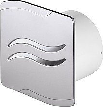 "Silver Bathroom Extractor Fan 4"" 100mm with"