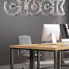 SILVER CLOCK P4790 PINTDECOR watch