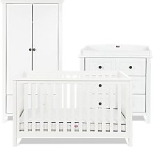 Silver Cross Nostalgia Cot Bed Dresser Wardrobe