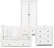 Silver Cross Nostalgia Cot Bed, Dresser, Wardrobe