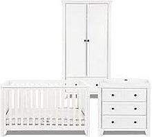 Silver Cross Nostalgia Sleigh Cotbed Dresser,