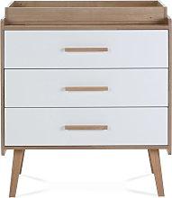 Silver Cross Westport Dresser - White