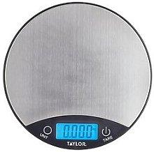 Silver Finish Digital Dual Kitchen Scale