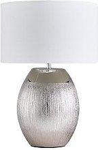 Silver Glitter Table Lamp