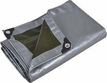 Silver Heavy Duty Tarpaulin Waterproof Windproof