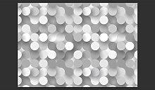 Silver Net 2.80m x 400cm Wallpaper East Urban Home