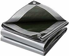 Silver Rainproof and Sun Protection Tarpaulin