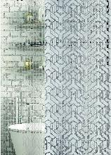 Silver Spirit Polyester Shower Curtain Silver