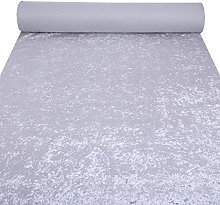 Silver Superb Shimmery Bling Design Heavy Velvet