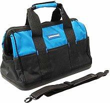 Silverline 268974 Tool Bag Hard Base Wide Mouth,