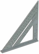Silverline 465021 Rafter Roofing Square 7'