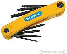 Silverline (50970) T10 - T40 Key Tool 7pce T10 -