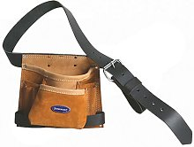 Silverline 675030 Leather Nail and Tool Bag 8