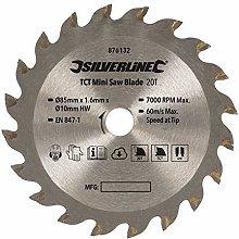 Silverline 876132 TCT Mini Saw Blade