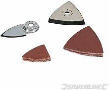 Silverline Multi-Tool Sanding Accessory Kit 14pce
