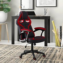 Silvia Recliner Gaming Chair Zipcode Design Colour