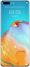 SIM Free Huawei P40 Pro 256GB Mobile Phone - Frost