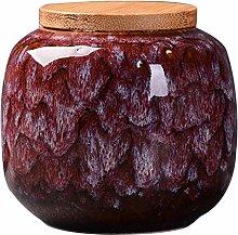 Simanli Ceramic Tea Jar Vintage Style Storage Jars